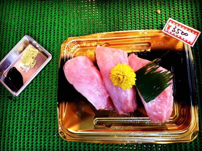 入口即化的金槍魚握壽司 築地市場 金槍魚 握壽司 Japanese Food Sushi Yummy Fish Market Miss Food Foodporn Tasty EyeEm Enjoying Life Eyeemphoto