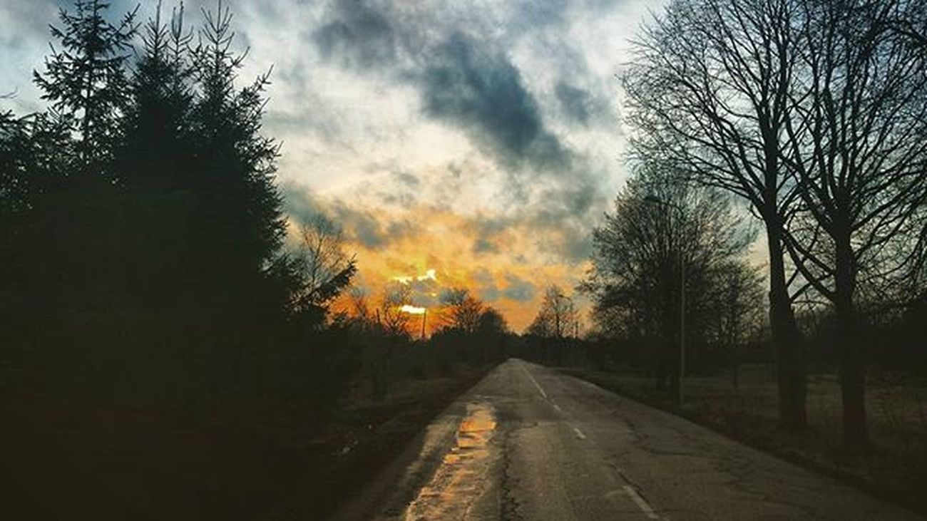 Deeds Will Not Be Less Valiant Because They Are Unpraised View Sunset Goinghome Edit Music Road Tree Nature Sky Clouds Latvia Night Got Gameofthrones Quote Photo February Mysterious Deeds Teenwolf Valiant