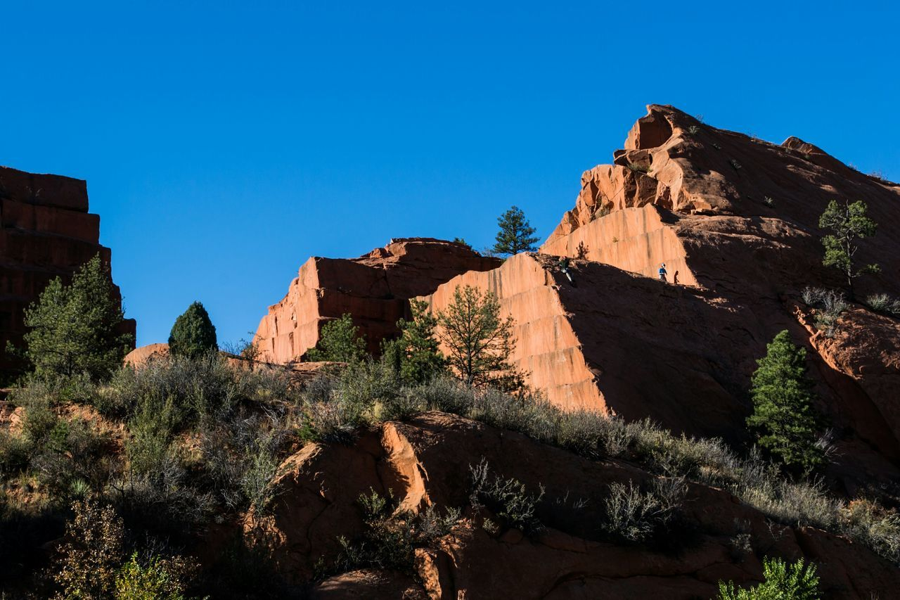 Nature Hiking Outdoor Photography Rocks Colorado Old sandstone quarry in Red Rock Canyon.