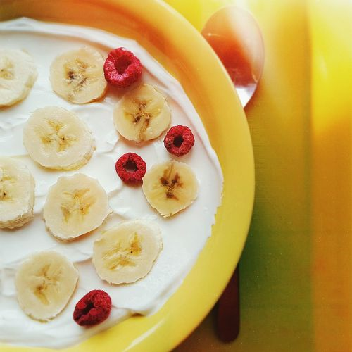My todays quickly breakfast!:) Breakfast Food Fruit Healthy Eating Day Plate Ontheplate Morning Rituals Friday Fresh