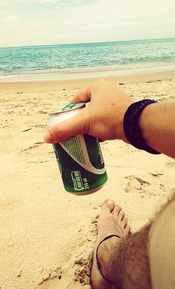 Beach Photography Heineken Beer