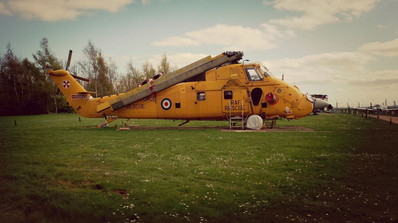 A Rescue Helicopter Museum