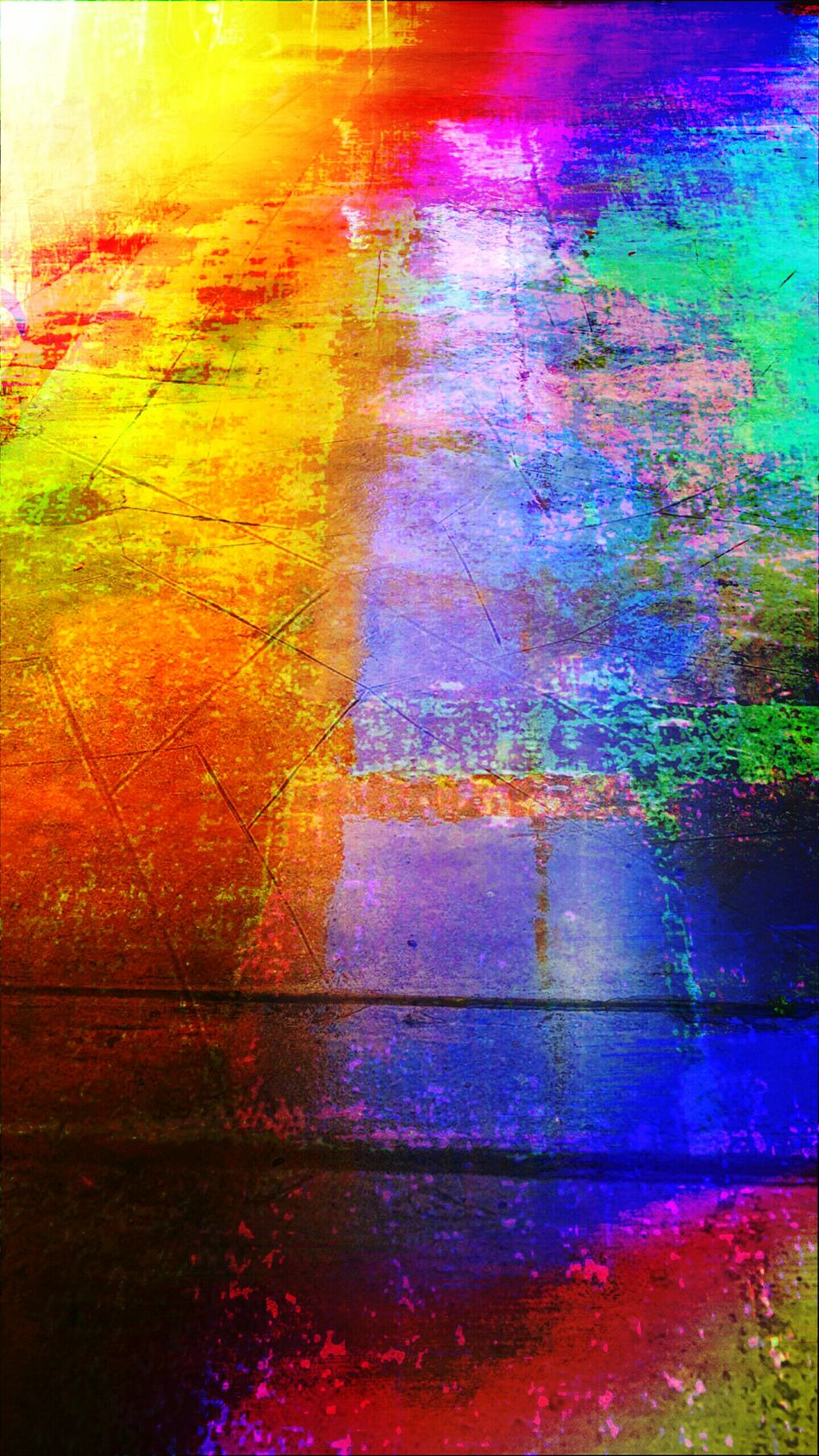 """Sleekpuddlecolors"" Rain Raining Multicolored Multi Colored ManyColors Color Colors Hew Art Photography Artphotography Effect The Magic Mission The Innovator Computer Art Computerart Computerarts Colorful Lighting Fine Art Photography Pivotal Ideas Colour Of Life Adapted To The City"