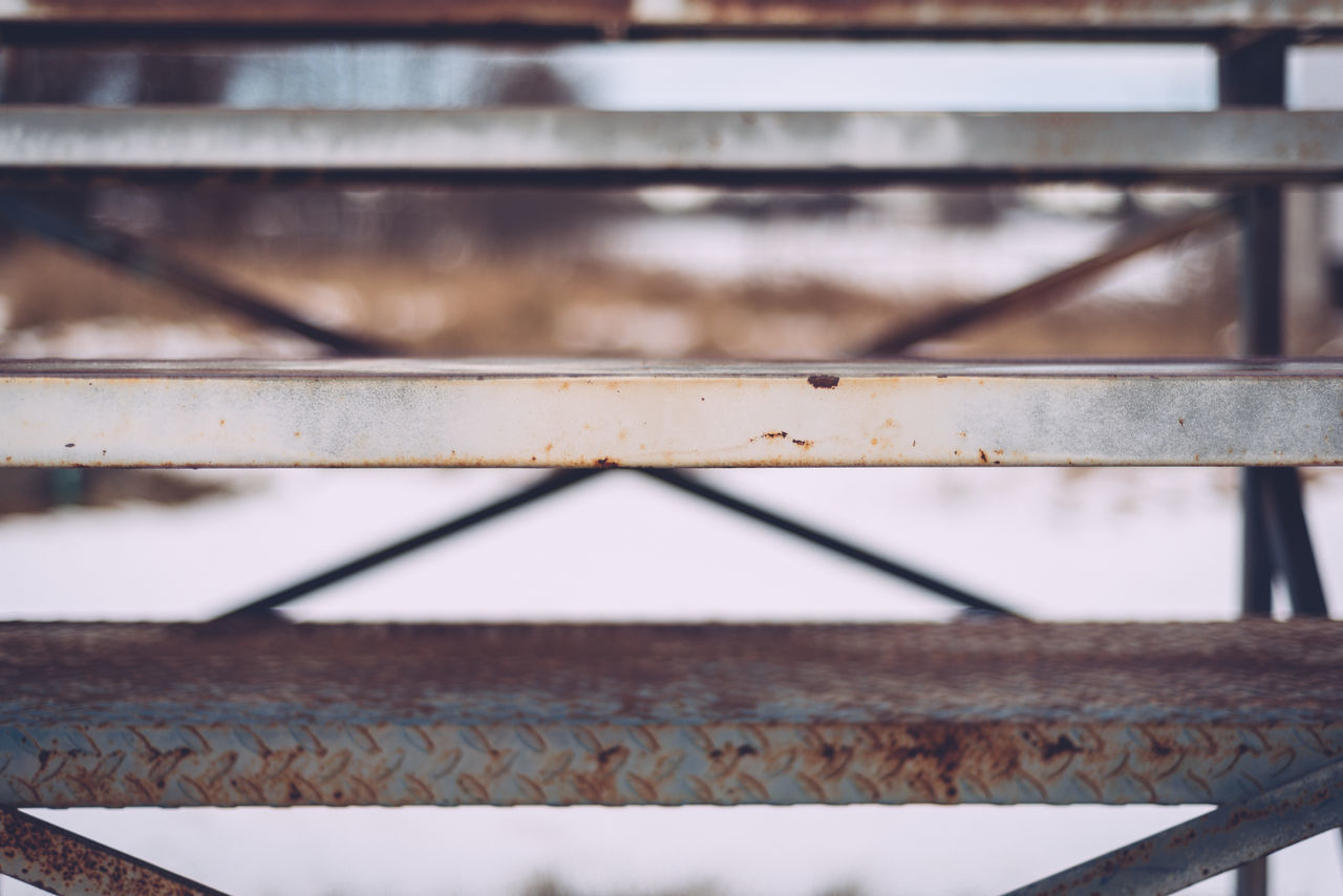 Abstract Abstract Photography Backgrounds Baseball Bench Baseball Diamond Close-up Day Focus On Foreground Full Frame Metal Outdoors