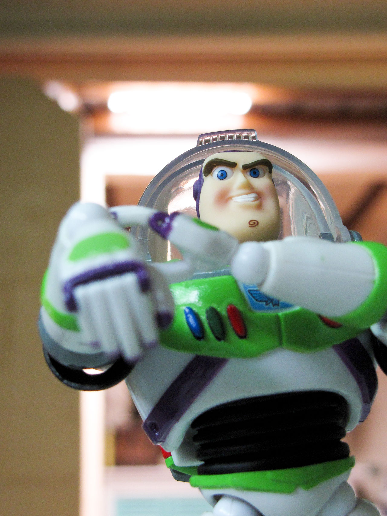 Animation Buzzlightyear Childhood Day Focus On Foreground MOVIE One Person Revoltech Standing Toy Toyphotography Toystory