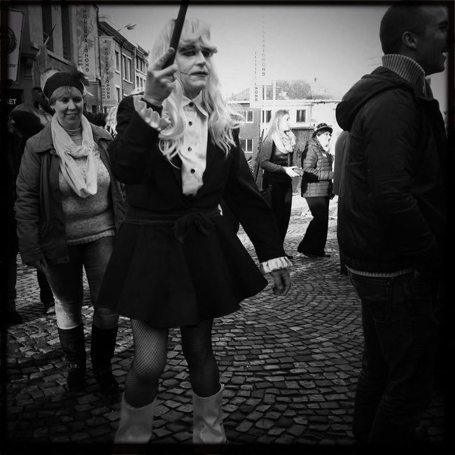 The Places I've Been Today carnaval Binche