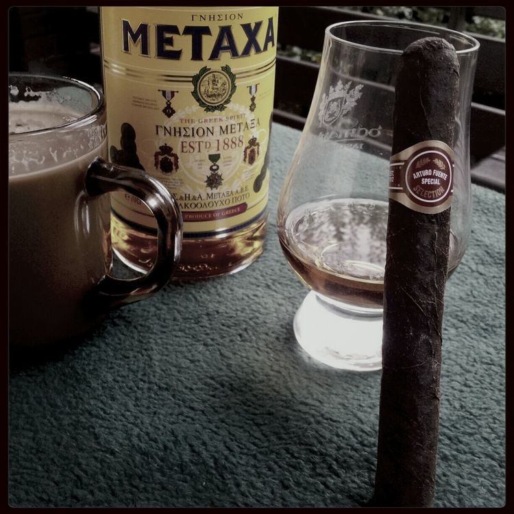 Cigar Cigar Time Smoking Cigar Metaxa