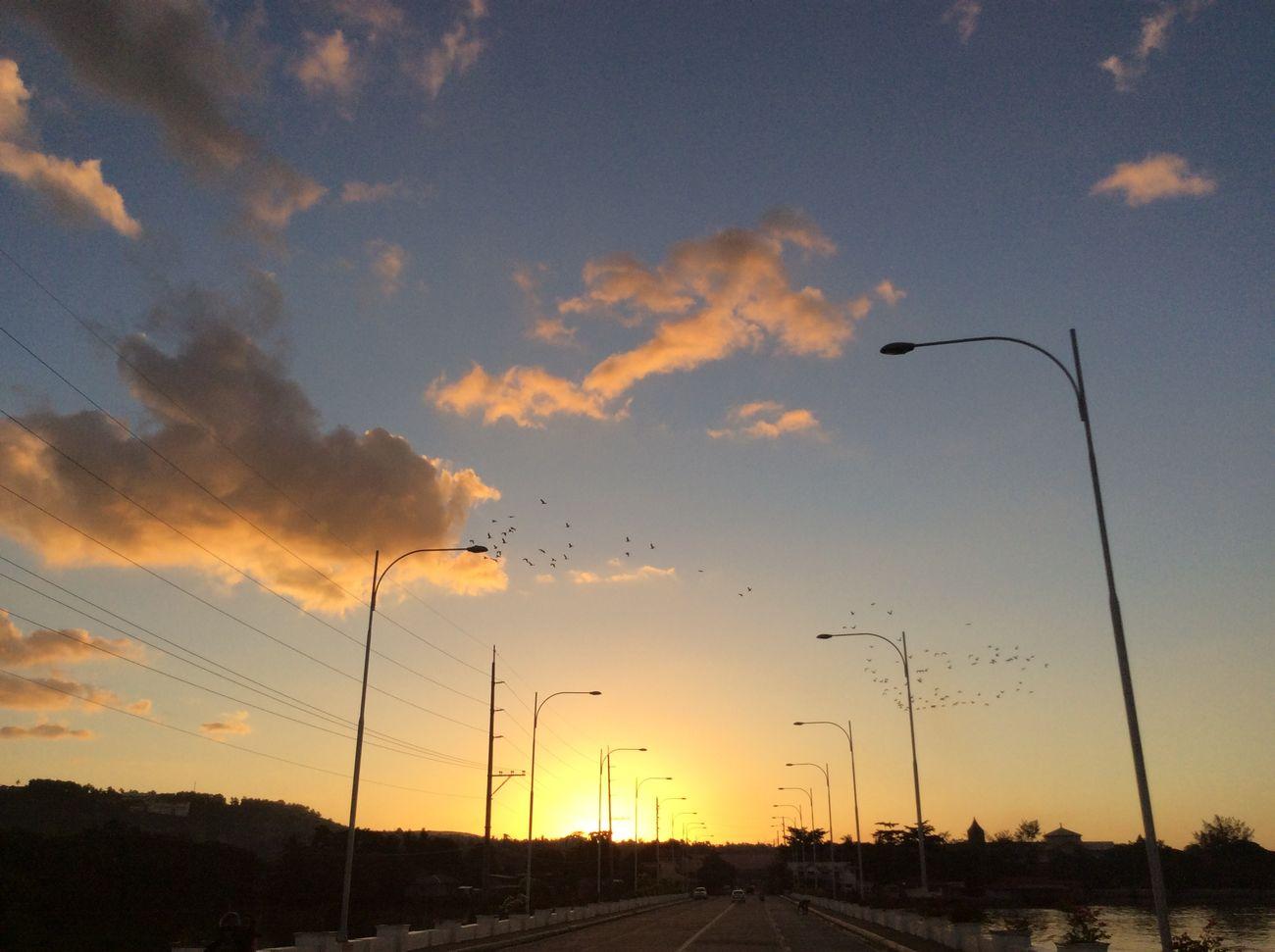 Simply love sunset