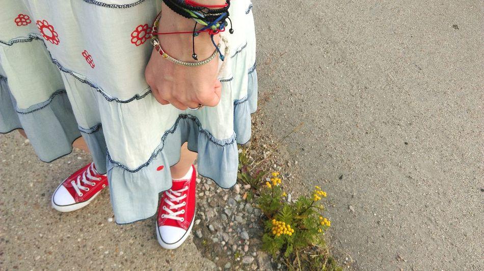 Summerdays  Beautiful Dress  Walking Flowers Hippie ✌ Bracelet Girly Woman