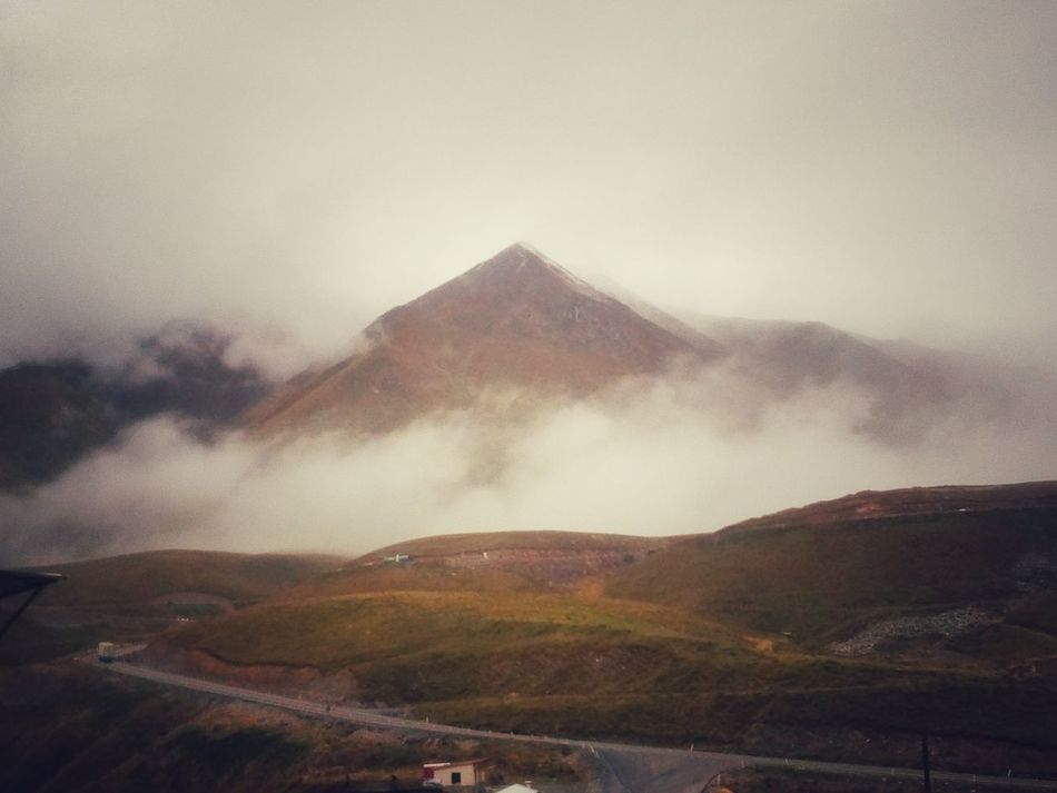 Mountain Landscape Nature Beauty In Nature Sky Foggy Mistic Place Eye4photography  Mycountry