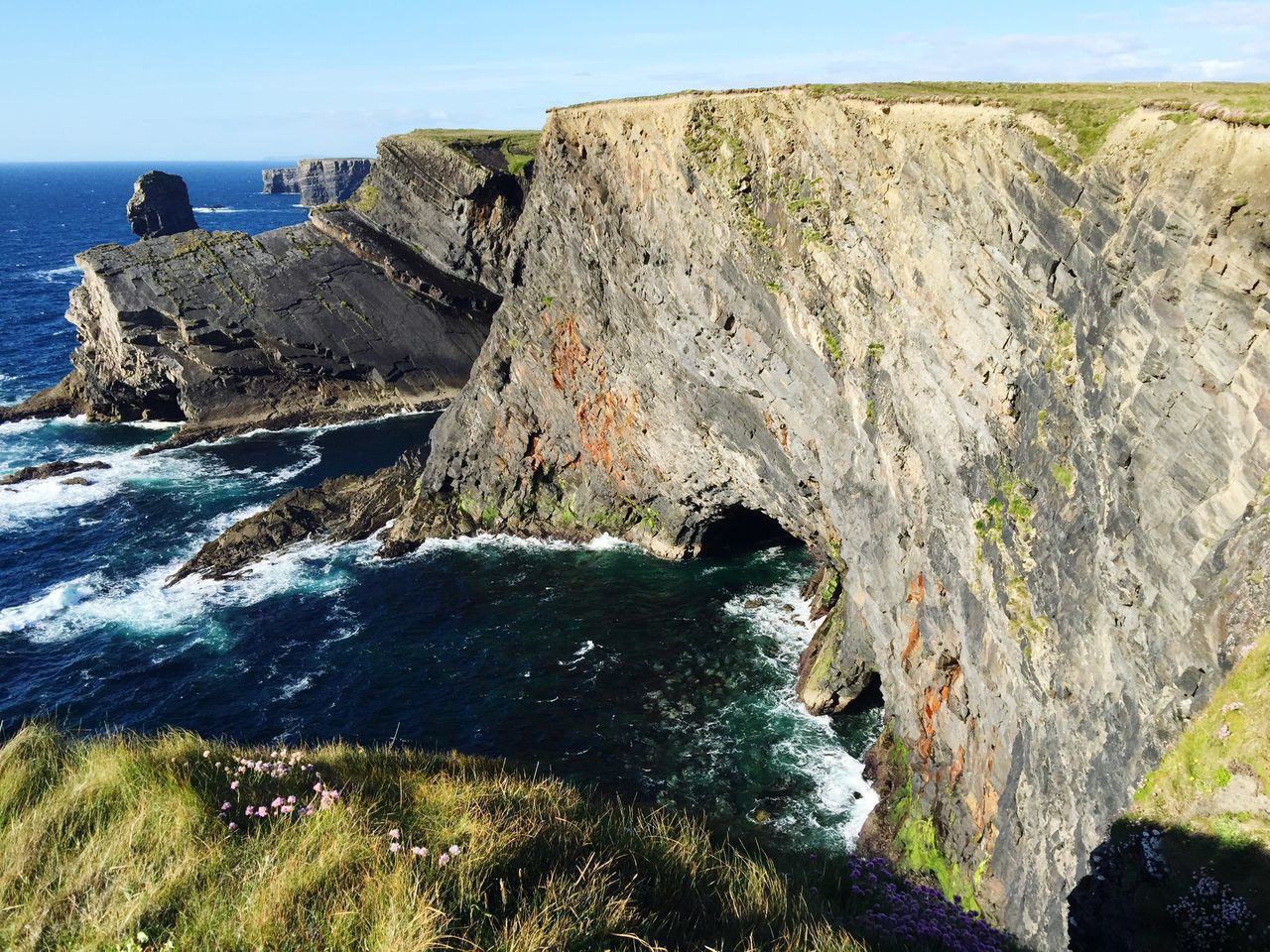 Beautiful stock photos of ireland, Beauty In Nature, Cave, Day, Idyllic
