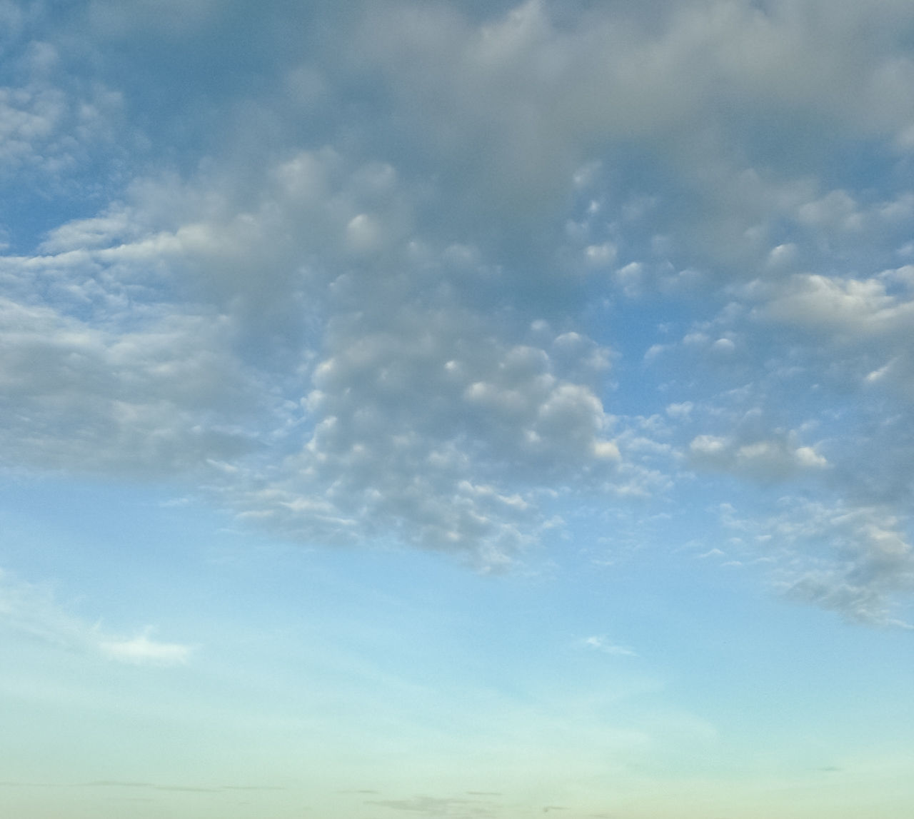 nature, sky, beauty in nature, cloud - sky, tranquility, no people, low angle view, scenics, tranquil scene, backgrounds, day, sky only, outdoors, blue