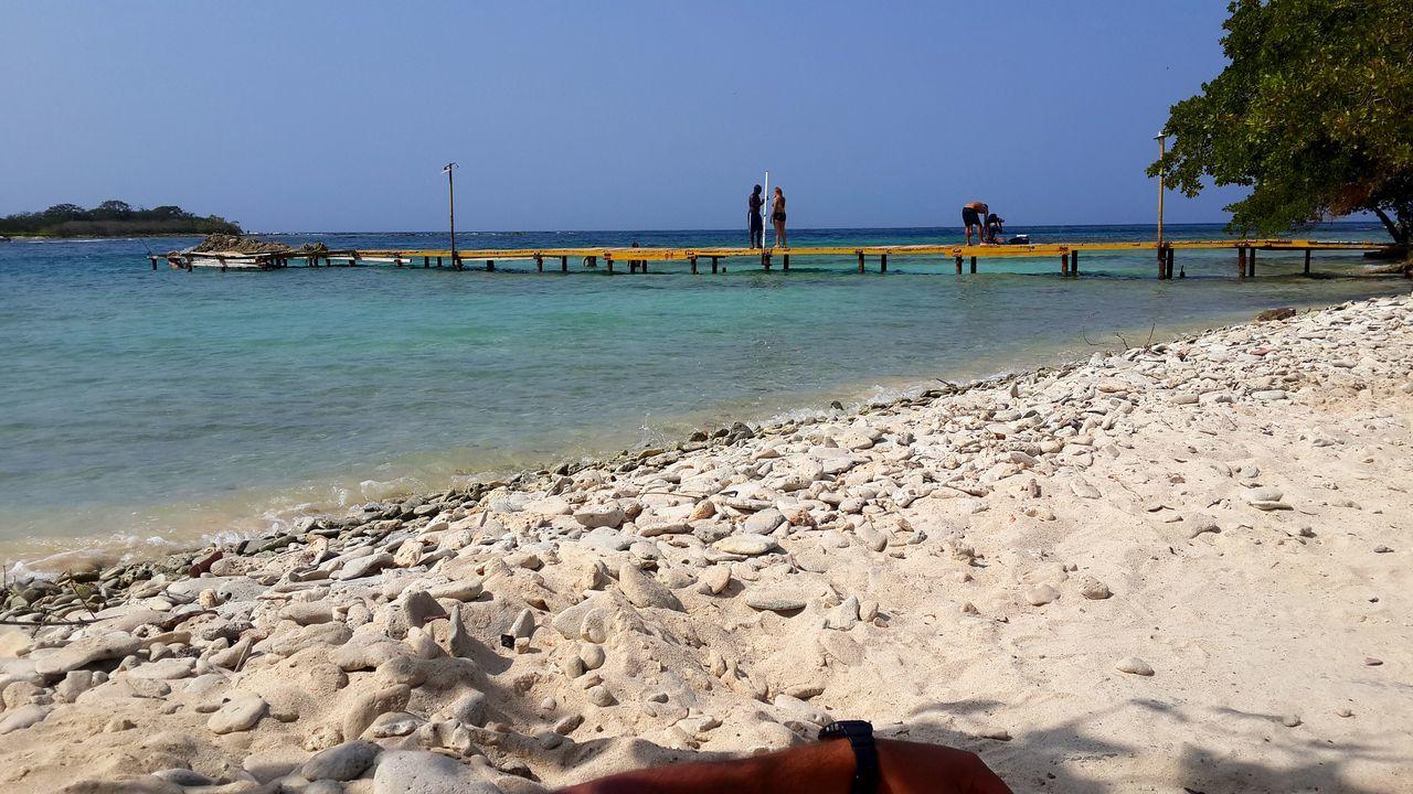 La Cienaga Sky Beach Sand Venezuela Aragua Cata Hand Relaxing Landscape Nature