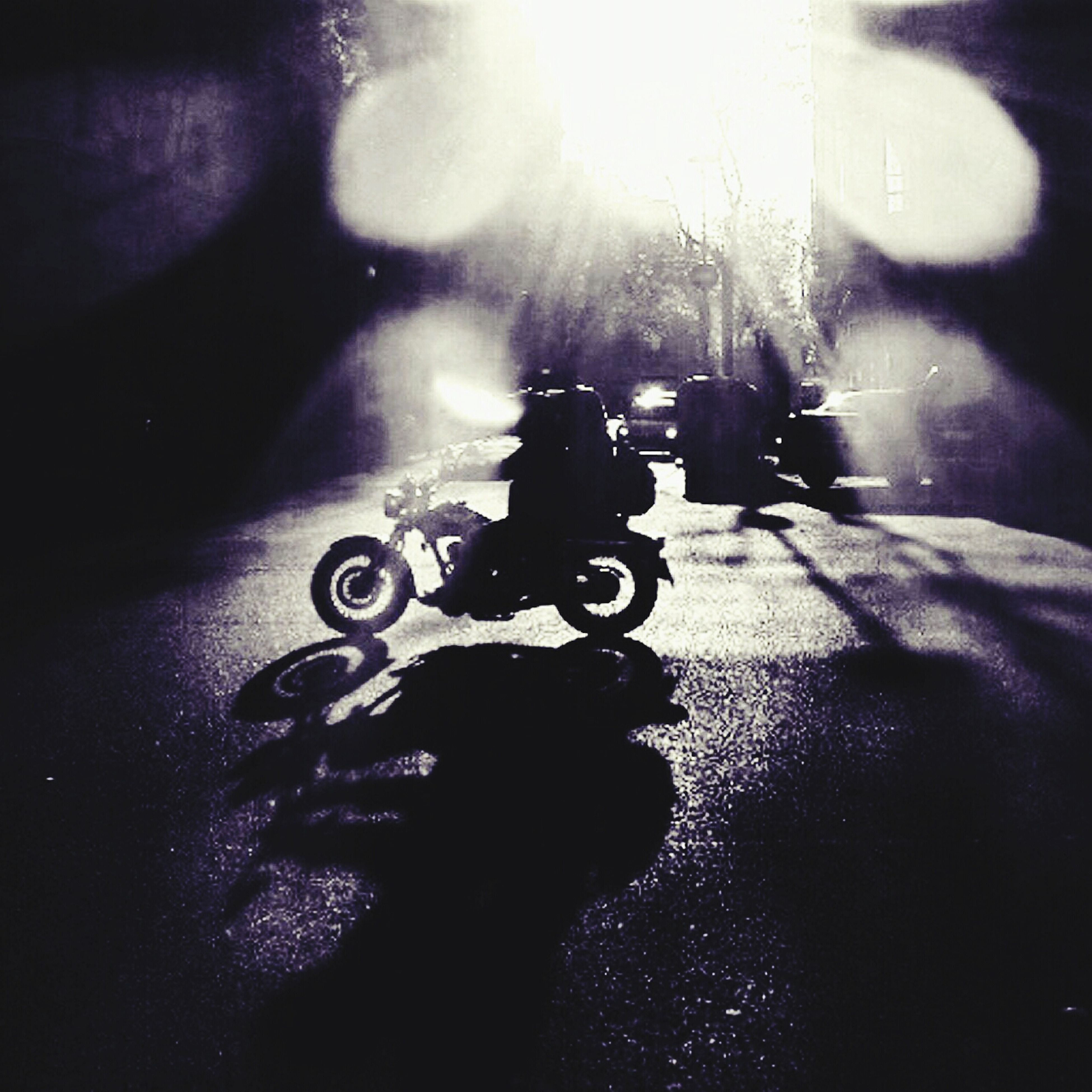 transportation, land vehicle, lifestyles, mode of transport, street, leisure activity, men, bicycle, car, riding, road, shadow, sunlight, reflection, on the move, travel, unrecognizable person