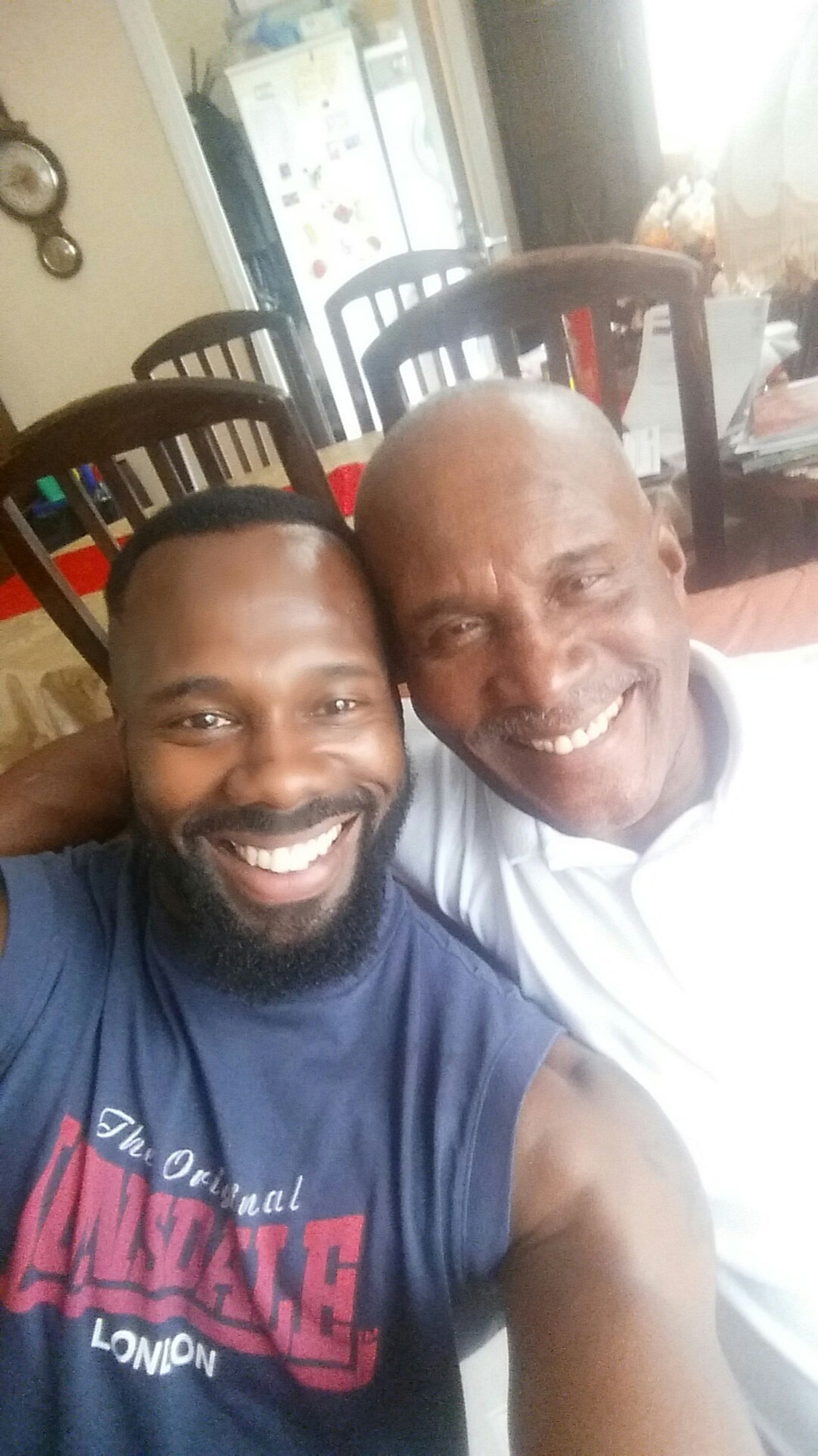 Pops and i.... Reunited  Modern Father Enjoying Life Hanging Out Soulfine. X