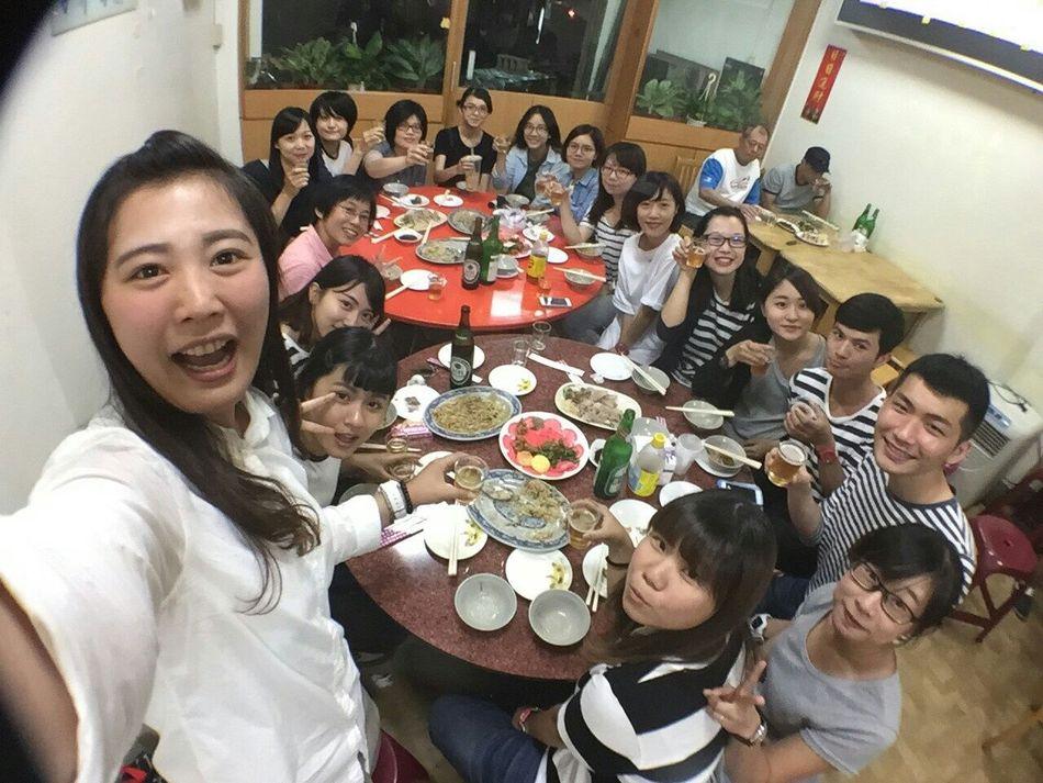 唯一能大家一起吃飯的時間就是晚上下班後 Enjoying Life Taichung, Taiwan Good Day 幸せ Nice To Meet You Life Partners Muji 無印良品 仲間