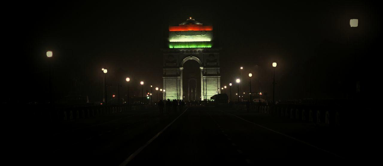 Indiagatedelhi Tricolour National Flag Republicday Celebration Decorations