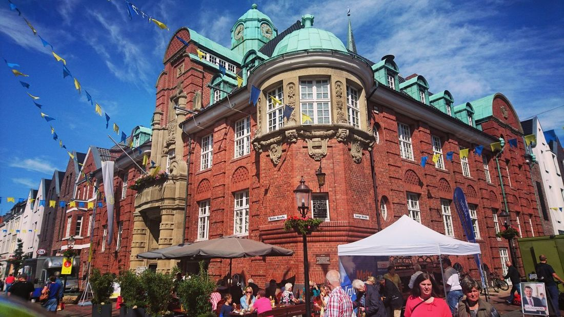 Buxtehude Architecture Large Group Of People Building Exterior Sky Outdoors Day Built Structure Travel Destinations People City Adult Stadtfest