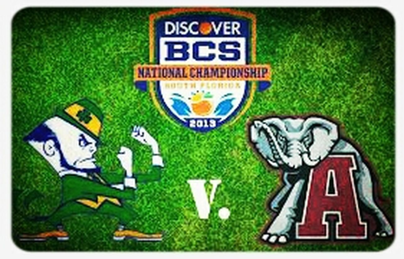 BCS CHAMPIONSHIP GAME STILL ON GOTTA RESPECT THE POLYS PLAYING TONIGHT WIN OR LOSE GOTTA LEAVE EVERYTHING ON THE FIELD.... #BAMA VS IRISH Football Polynesian American Samoa