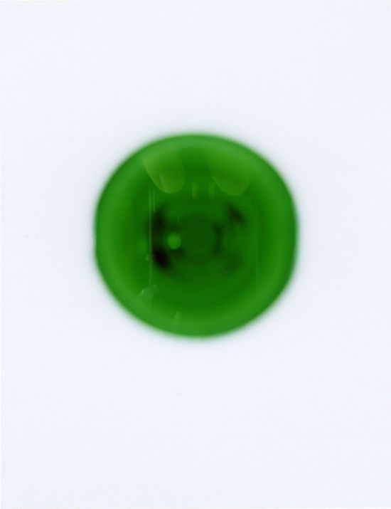 Freshness Fuji Fp 100C Glass Glass Reflection Green Green Green Color Grün Menthe Menthe Vert Menthe à L'eau Minth Minze Organic Polaroid Polaroid Art Polaroid Pictures Ve Vert
