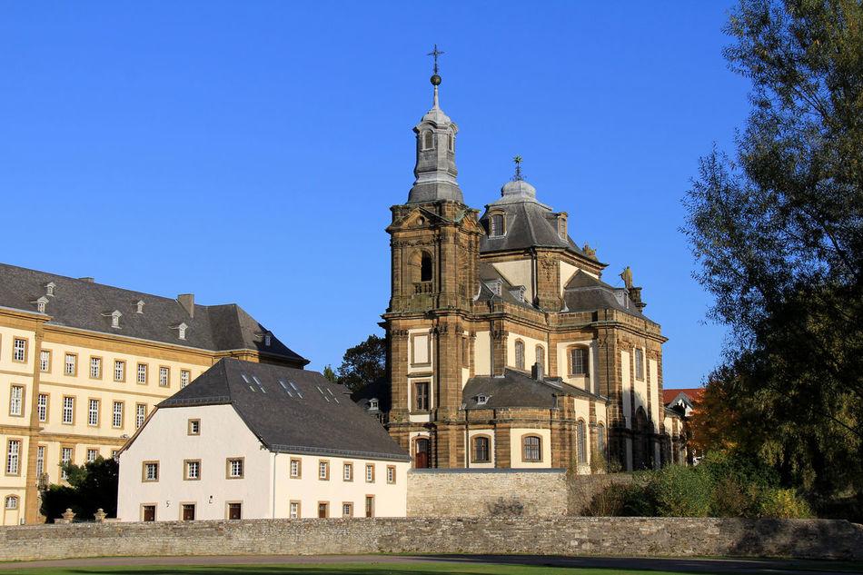 Büren, Ensemble Jesuitenkirche Jesuitenkolleg Kreis Paderborn Maria Immaculata Mauritius-Gymnasium