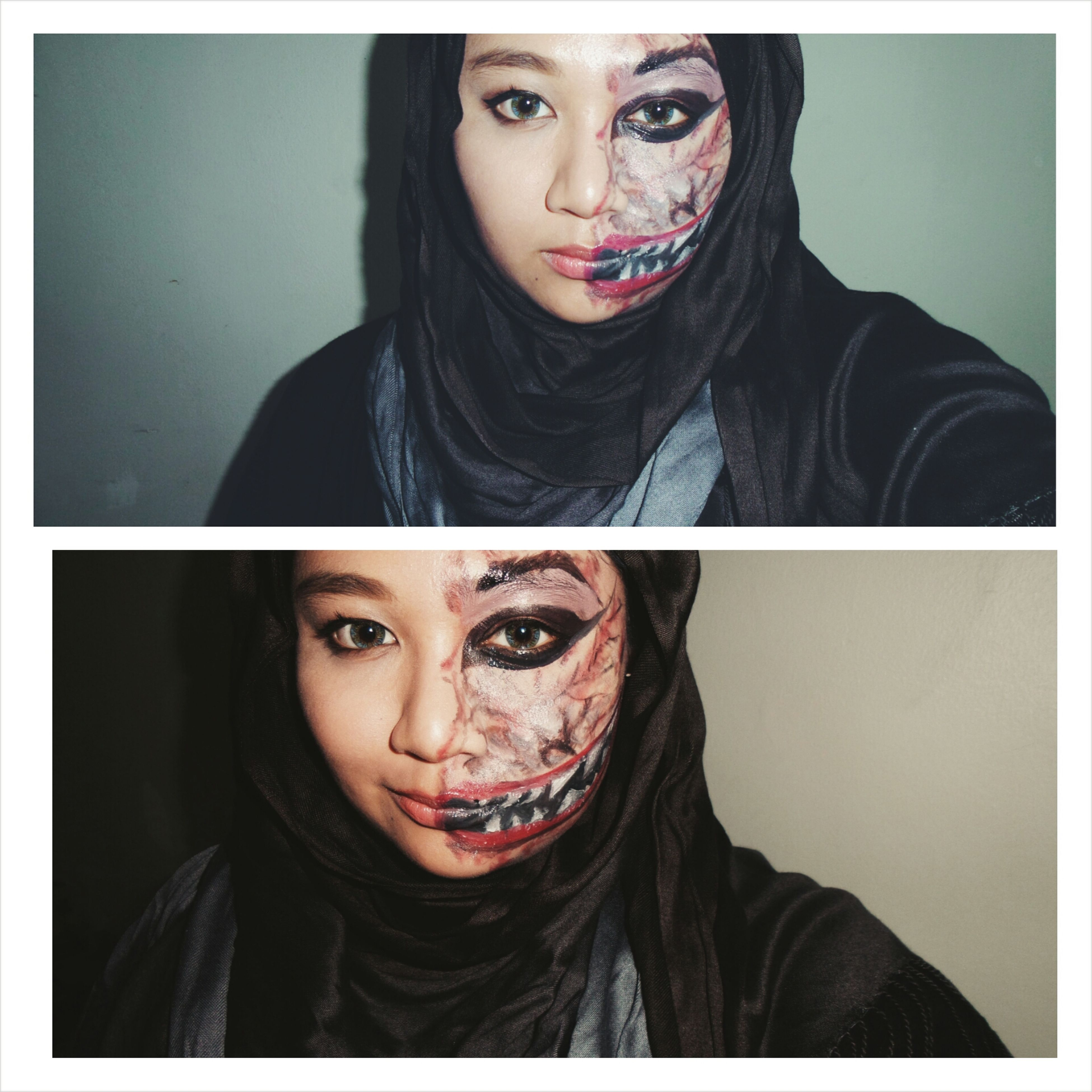 The more people hurt you, the more a monster you will be Make Up Makeupeffect Monster