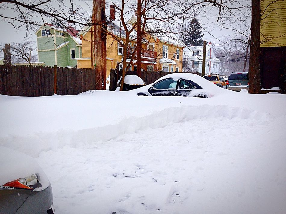 How's The Weather Today? Blizzard 2015 Boston Winter