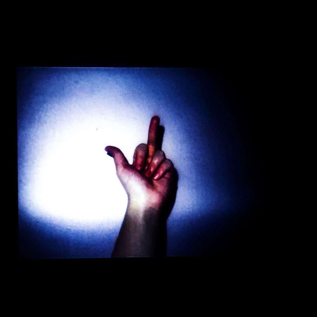 human hand, human finger, human body part, indoors, one person, real people, gesturing, touching, studio shot, blue, women, close-up, day, people, adult, adults only