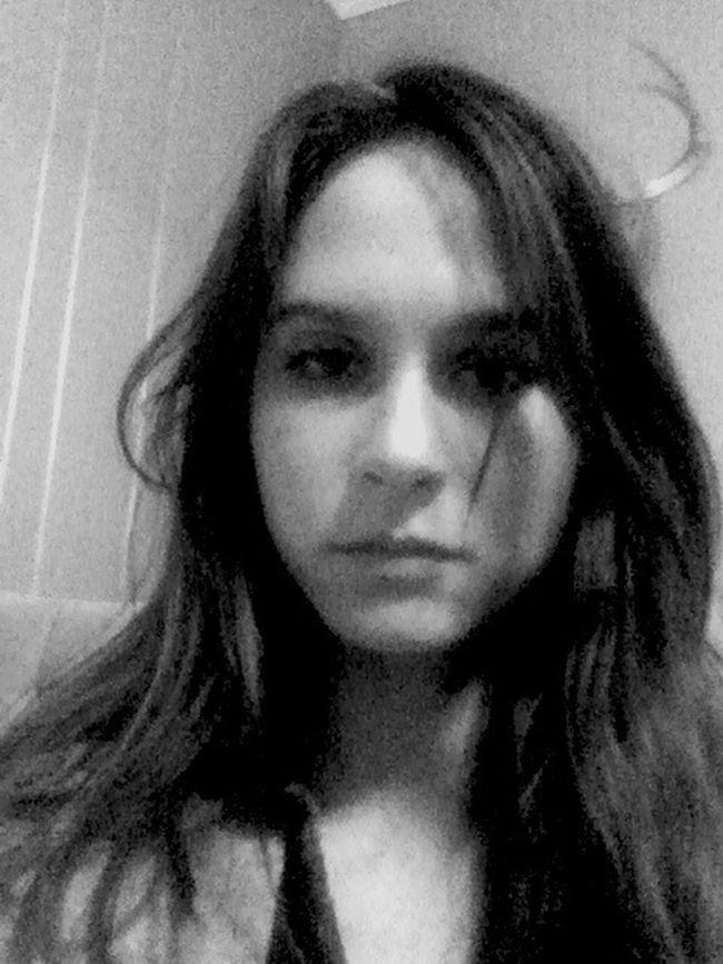Bad Selfie Blackandwhite Swollen Face