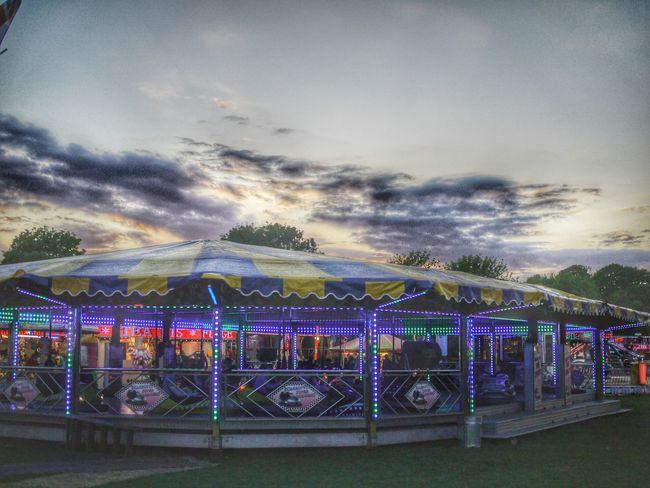 Last night of the fair, dodgems Walking Around People Watching Dusk Fairground Attraction Fairground Light In The Darkness Colour Photography Creative Light And Shadow HDR Streetphotography Street Photography Hdr Edit Hdr_lovers Mirrorless Creative Photography Check This Out Creative Shots In The Park Panasonic Lumix Hdr_Collection HDR Walking Around Night Photography Dodgems Dodgem Cars