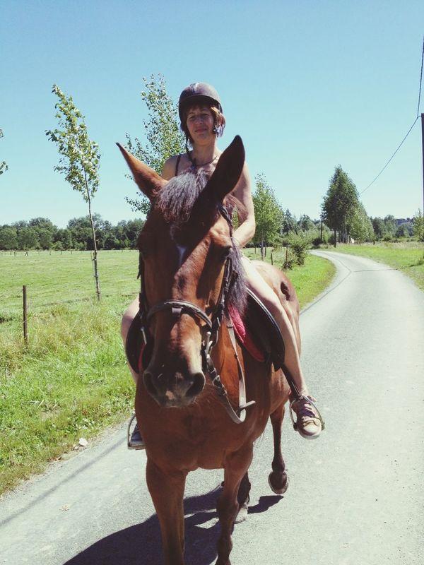 I Love My Mom Riding My Horse