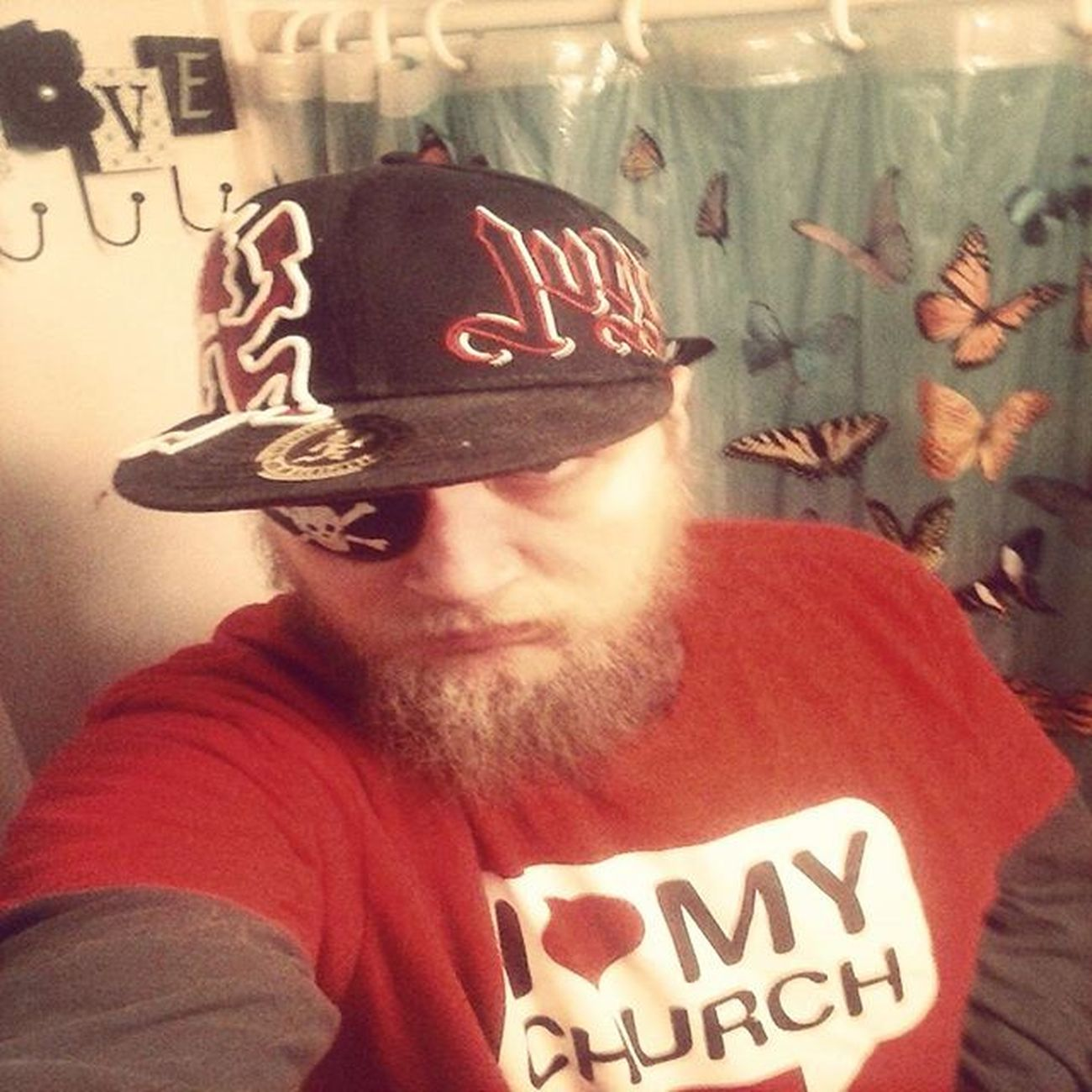 Call Me, Shitty Rap... Selfie by a Bearded Rap Pirate Wickedclown Whoopwhoop Mcl