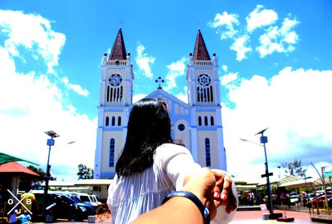 Own Version Murad Osmann Followmeto Cathedral Sunday Mass Baguio City Philippines FotoGrapiya 💒