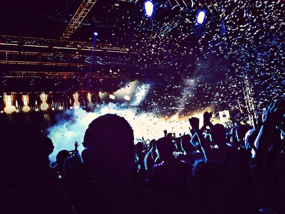 Beautiful stock photos of team, Arts Culture And Entertainment, Concert, Confetti, Crowd