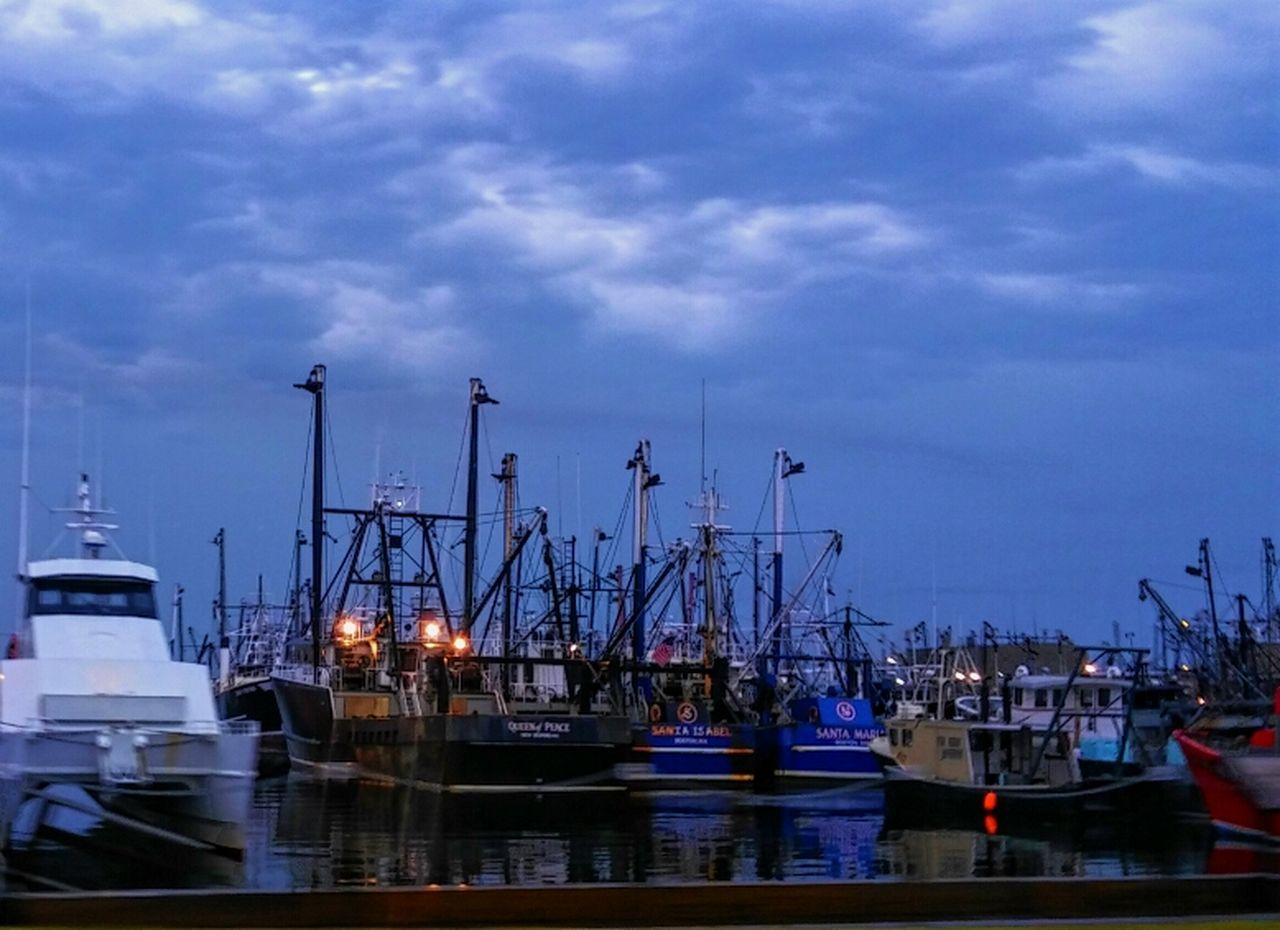 ⚓Dawn Of A New Day at the Number One Fishing Port in America, thePort Of New Bedford in Massachusetts.🇺🇸 - Fishing Industry Commercial Fishing Fisherman Fishing Boats Fishing Fishing Village Scallop Boat Ocean Water Waterfront North Atlantic Ocean East Coast Coastline American Dream Reflections In The Water Reflections Sky And Sea Sea Vessels Vessels In Port