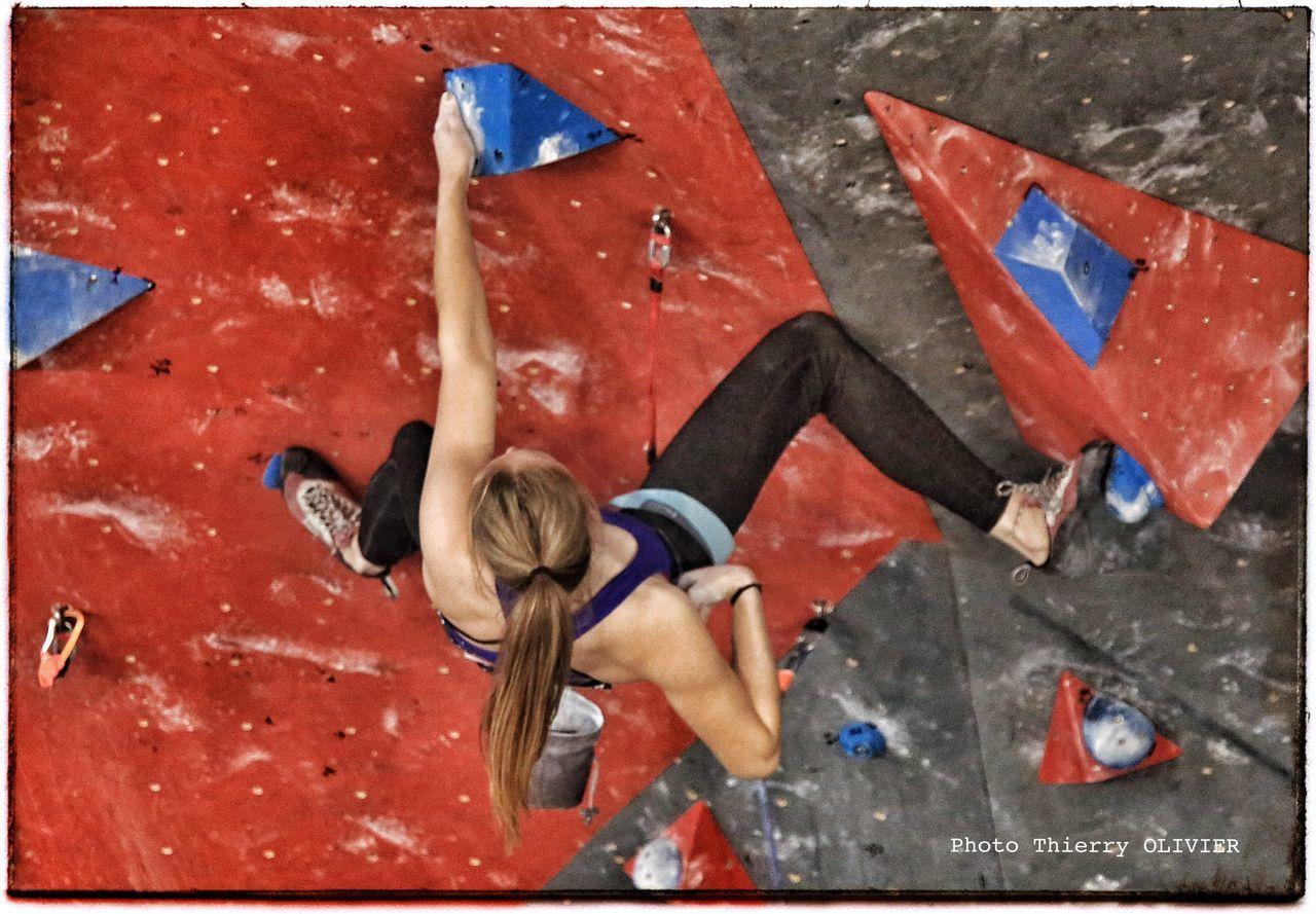 Canon Niort Women Sports Photography Presse Photographer Escalade