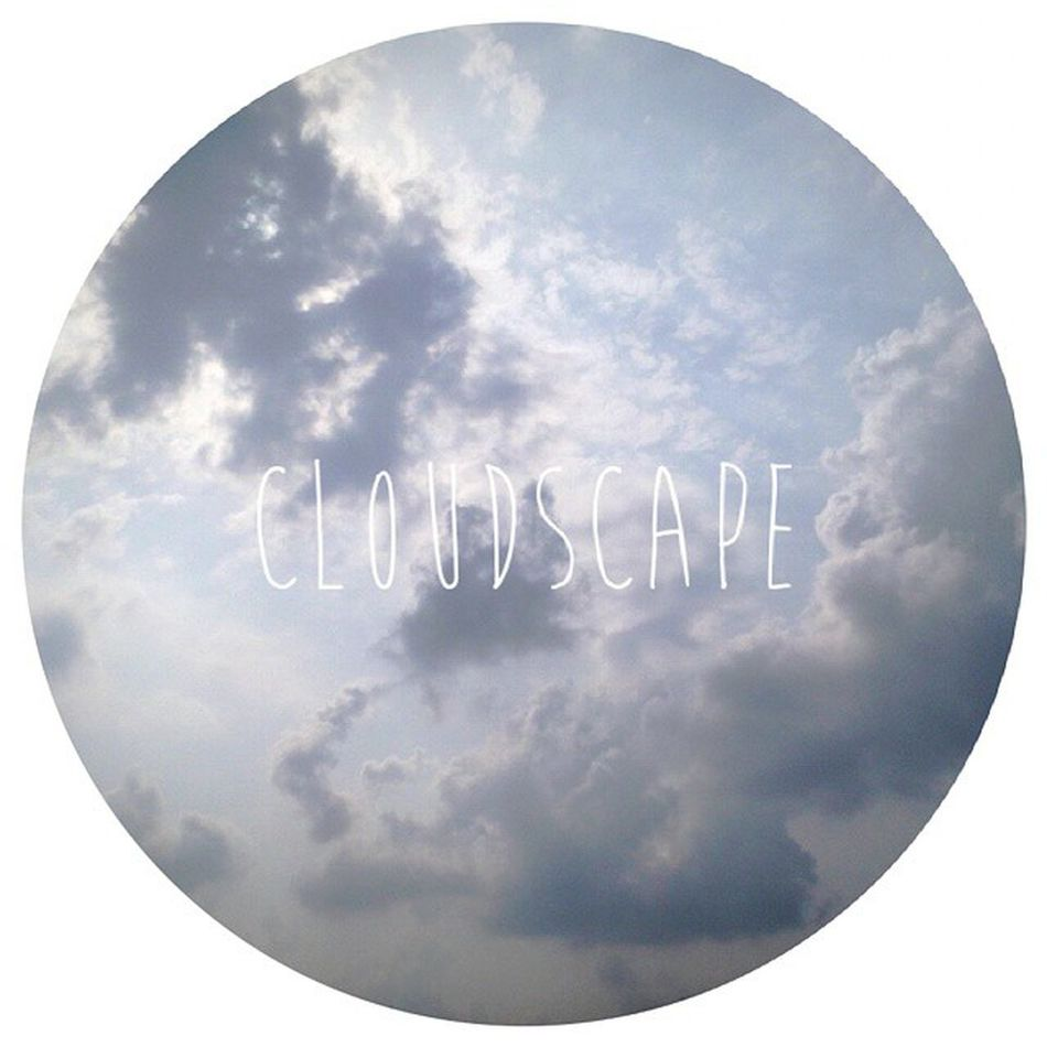 ☁☁☁ Typography Fontover Clouds