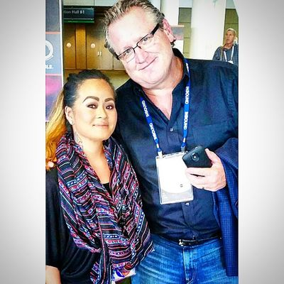 Another Mentor and online friend who crosses over into real life at Inbound14 @markwschaefer