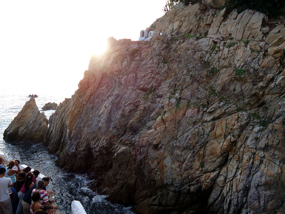 Acapulco Adventure Cliff Desert Eroded Exploring Extreme Terrain Geology Mar Physical Geography Quebrada Acapulco Rock Rock - Object Rock Formation Rocky Rocky Mountains Rough Rugged Stone Textured  EyeEmNewHere