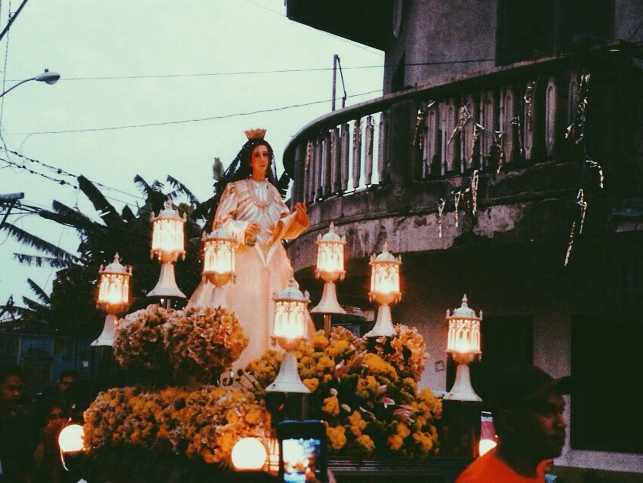 photo taken during the celebration of holy week Mamamary Blessedday VSCO Vscophilippines Checkitout Iosphotography IPhoneography