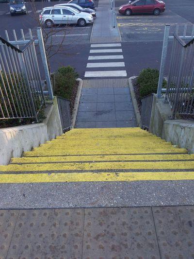 Stairway Stairs Stairs To Carpark