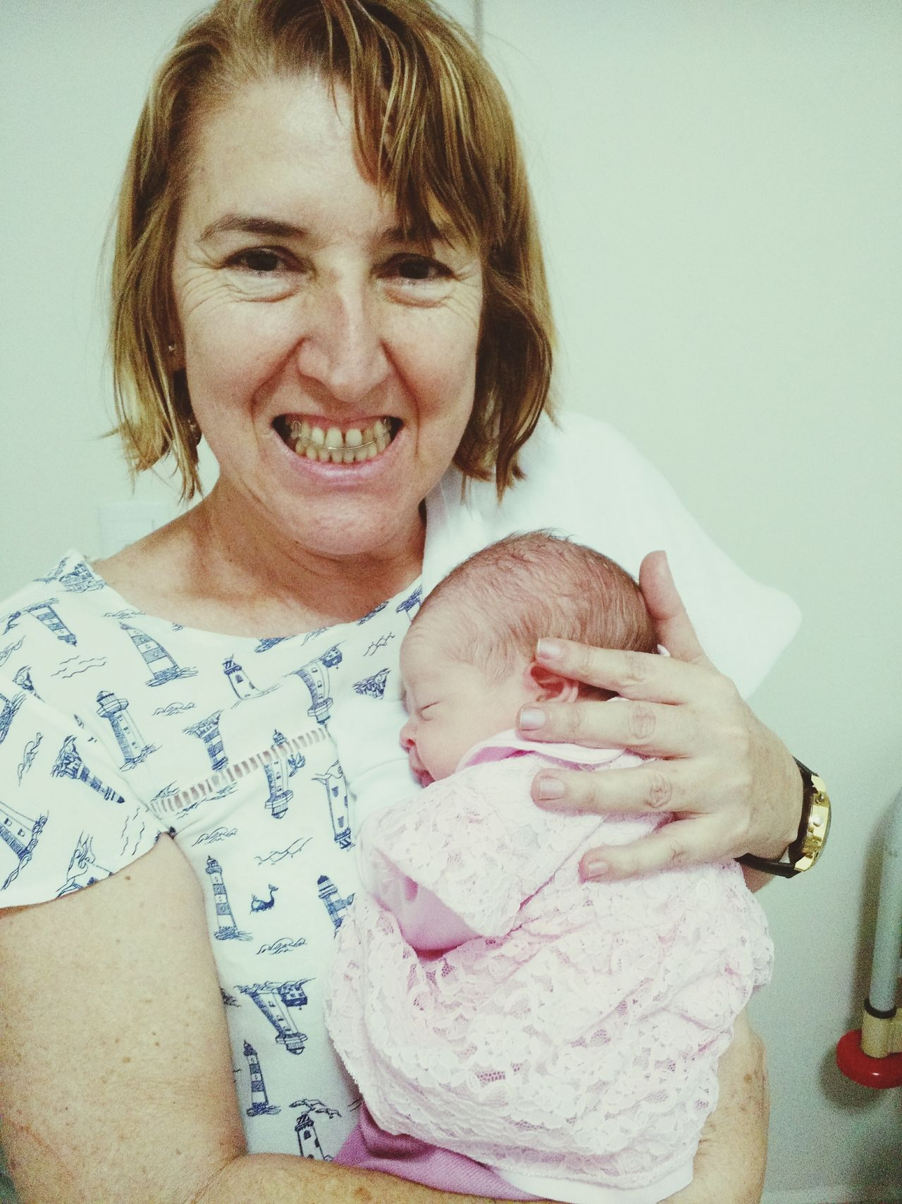Baby Smiling Bebe Menina Recem Nascido Vovó❤️ Babona First Eyeem Photo Truelove Princesa ❤ Vida Netinha EyeEmNewHere