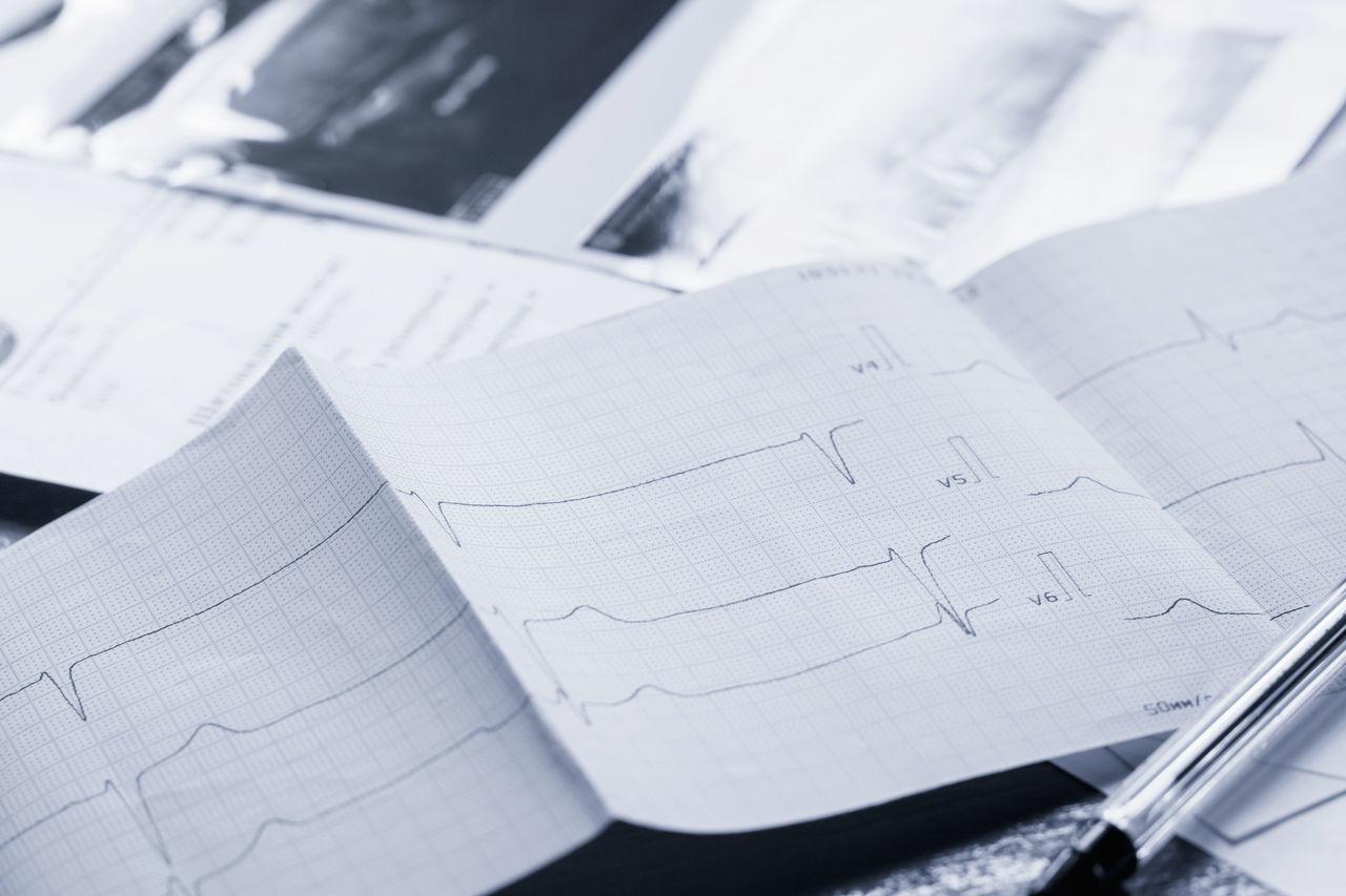 Cardio Health Medicine No People Paper