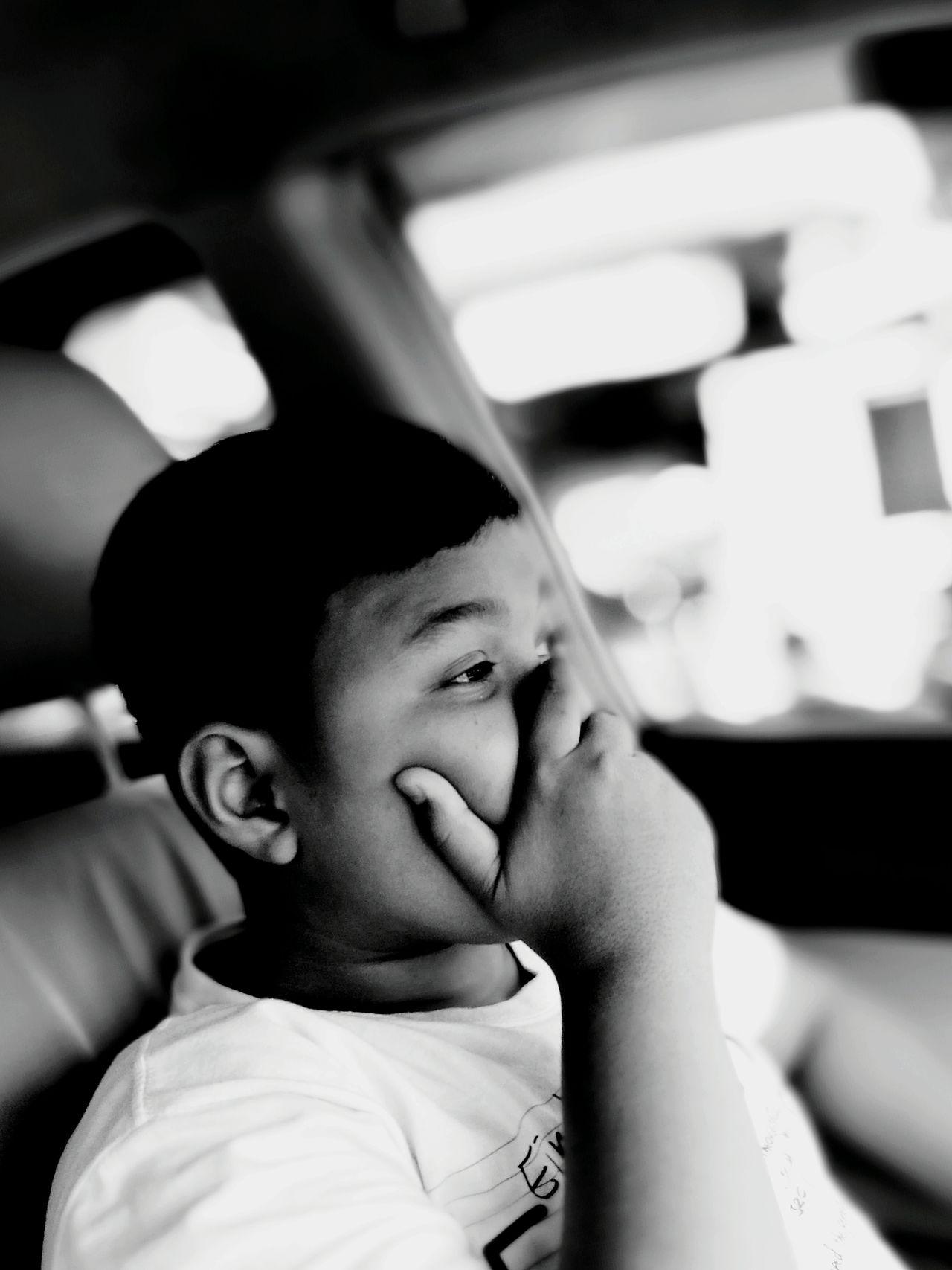 What the story Kiddos One Boy Only Iseng Black & White EnjoyTheMoment