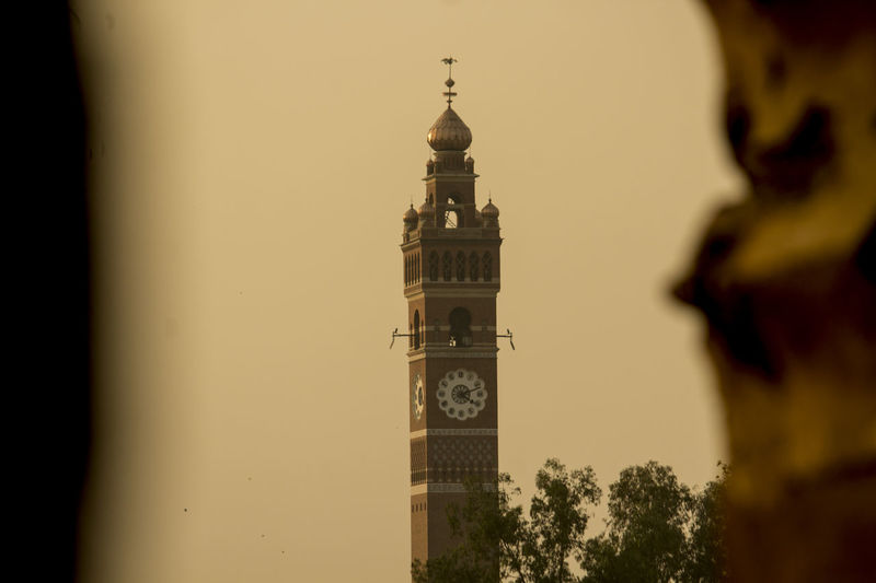 Architecture Tower Building Exterior History Travel Destinations Built Structure Religion No People Clock Tower Clock Face Lucknow Lucknowdiaries Bada Imambada GhantaGhar Lucknow👌City