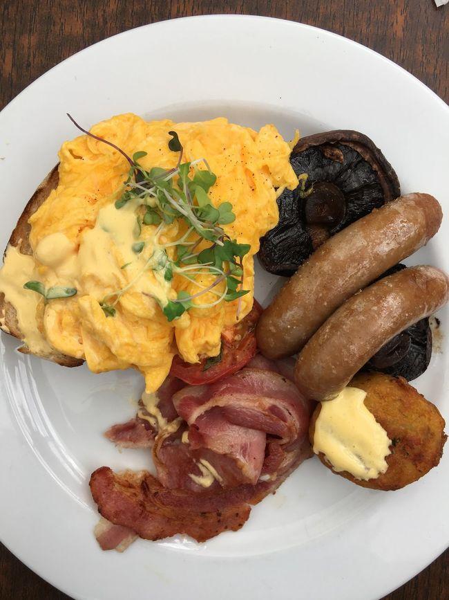 The big breakfast Scrambledeggs Eggs... Breakfast Big Breakfast
