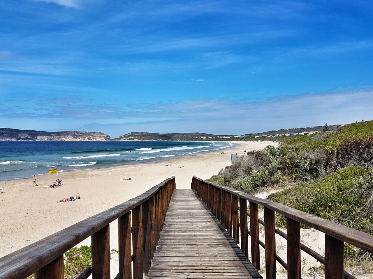 Beach Sea Water Sand Horizon Over Water Wood - Material Pier Outdoors Summer Day Nature Sky Vacations Blue Scenics Beauty In Nature No People Southafrica First Eyeem Photo EyeEmNewHere Plettenberg Landscape