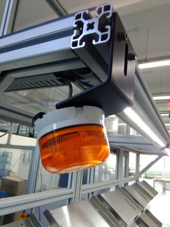 No People Industry Manufacturing Equipment Orange Color Ligth