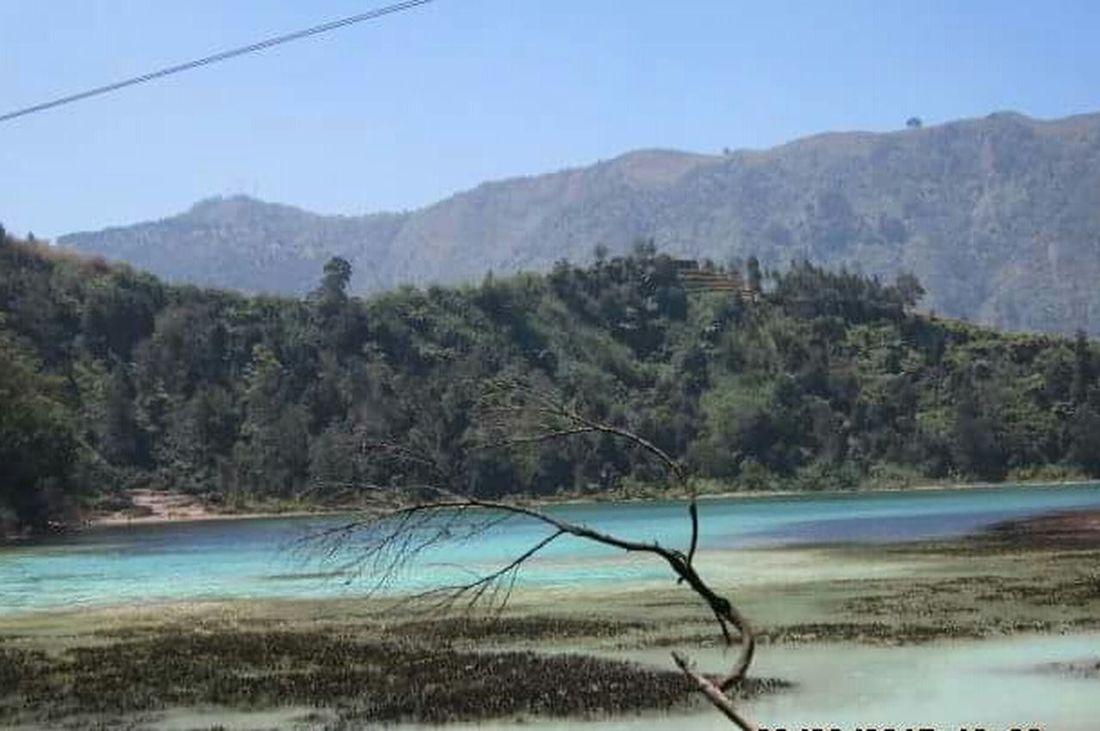 Telogo warno dieng Wonosobo Takenbyme Enjoying The View Traveling Original CameraCanon