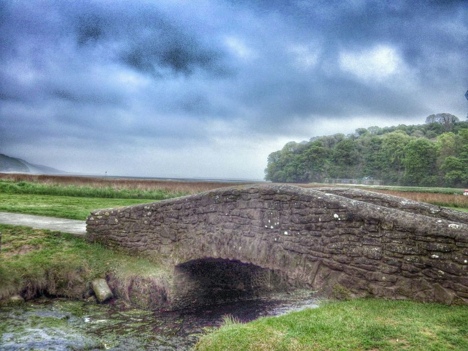 Wales Taking Photos Photography Check This Out Bridge Oldbridge Stream Green Landscape Trees